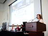 """Marcia Smith of the California Energy Commission presented """"Proposition 39: Implementing California's Clean Energy Jobs Act.""""Kathreen Fontecha/CLTC, UC Davis"""