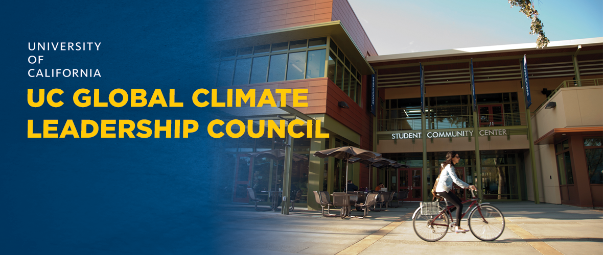 CLTC Hosted University of California Global Climate Leadership Council Meeting