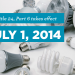 New Title 24 Standards Took Effect July 1, 2014